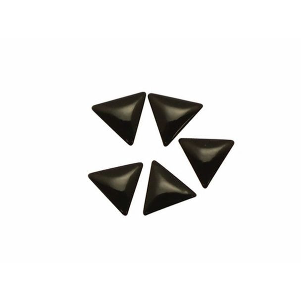 プレミアムスタッズ トライアングル ブラック 3×3mm(B151)