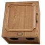 【シャビーシック】天然木製バックシャンプーキャビネットRENE-B(上下セット)LBR 5