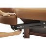 【FORTE】アームレスト可動式高級木製リクライニングベッド「フォルテ」 7