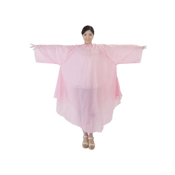 袖付カットクロスBasic(防水仕様) ピンク 1