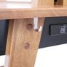 GRAIN(グレイン)天然木製両面ドレッサー(扉付き) ホワイト 10