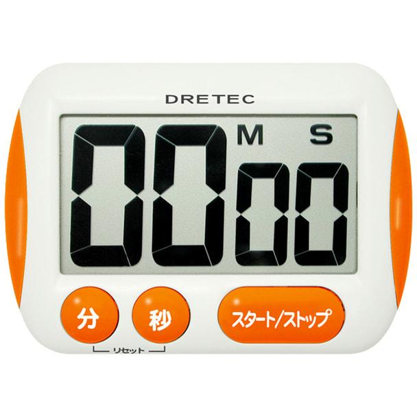 大画面タイマー T-291OR オレンジ 1