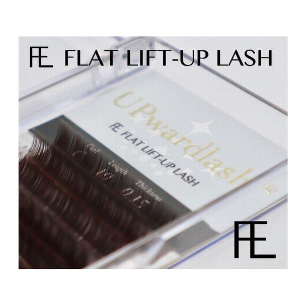FLAT LIFT・BLACK-BROWN[Jカール太さ0.15長さ7mm] 1