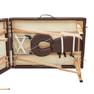 軽量木製折りたたみリクライニングベッド EB-05DX(キャリーバッグ付)(ホワイト) 6