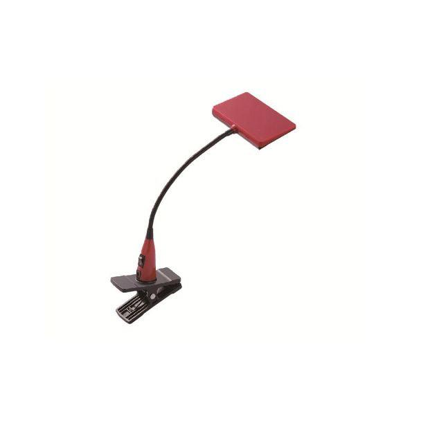 LUPINUS 面発光LEDクリップライト赤 EK214-RD2